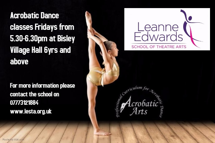Classes now available in Acrobatic Arts