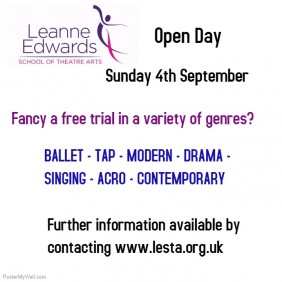 Open Day FREE dance classes taster