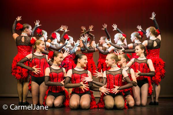 Leanne Edwards Dancers in Woking